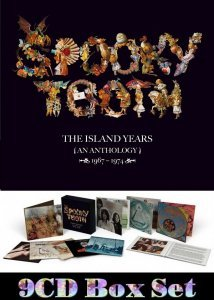 Spooky Tooth - The Island Years (An Antology) 1967-1974 [9CD Box Set] (2015)
