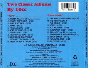 10cc - 10cc & Sheet Music (1990)