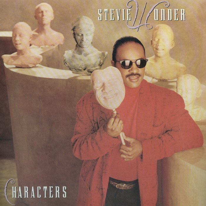 Stevie Wonder Characters Lp 1987 187 Lossless Music