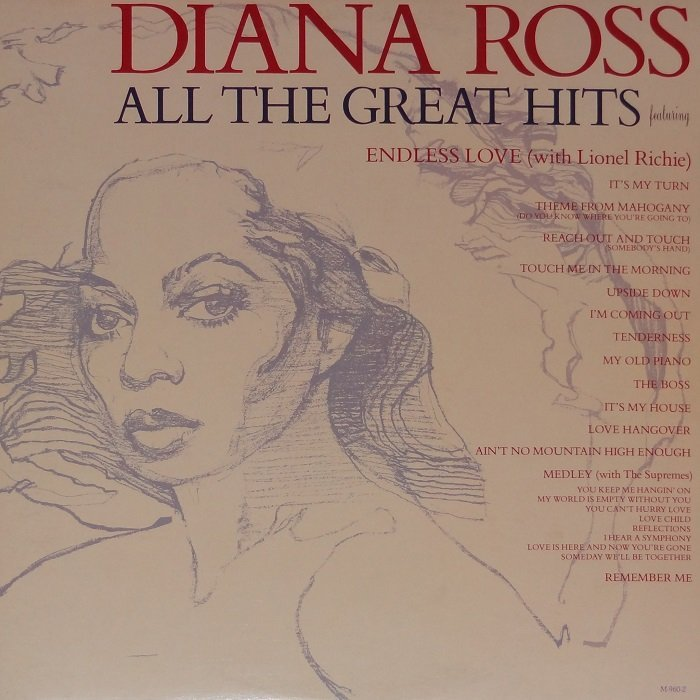 Diana Ross - All The Great Hits [2LP] (1981) » Lossless music