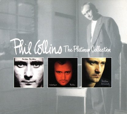 Phil Collins The Platinum Collection 3cd Box Set 2004