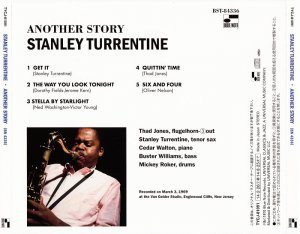 Stanley Turrentine - Another Story (1969) [2014 Japan SHM-CD 24-192 Remaster]