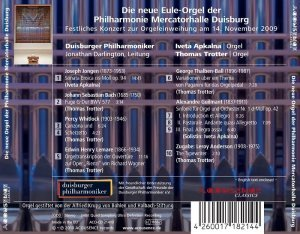 Iveta Apkalna and Thomas Trotter - The New Organ of the Philharmonie Mercatorhalle Duisburg (2010) [HDTracks]