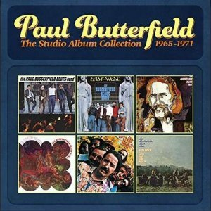 The Paul Butterfield Blues Band - The Studio Album Collection 1965-1971 [Hi-Res Remastering] (2015)