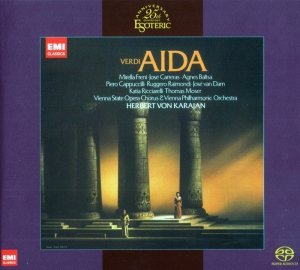Mirella Freni, Jose Carreras, Wiener Philharmoniker, Karajan - Verdi: Aida (1980) [Japan 2012] PS3 ISO + [HDTracks]