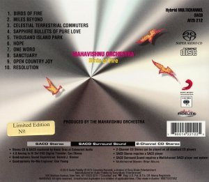 Mahavishnu Orchestra - Birds Of Fire (1973) [2015 Audio Fidelity SACD]