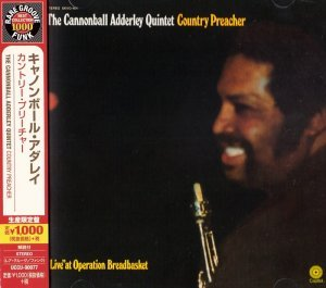 The Cannonball Adderley Quintet - Country Preacher (1969) [2014 Japan]
