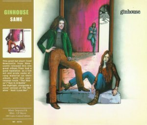 Ginhouse - Ginhouse [1971] [Mini LP Ltd Edition] (2012)