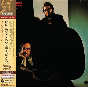 Bill Evans & Eddie Gomez - Intuition (1974) [2012 Japan SHM-CD Mini LP 24-96 Remaster]