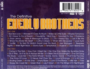 Everly Brothers - The Definitive Everly Brothers (2002)
