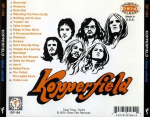 Kopperfield - Tales Untold (1974) [Reissue] (2001)