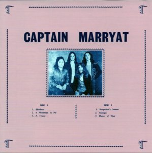 Captain Marryat - Captain Marryat (1974) [Reissue] (2010)