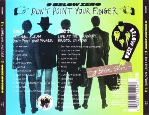 Nine Below Zero - Don't Point Your Finger [2CD] (2014)