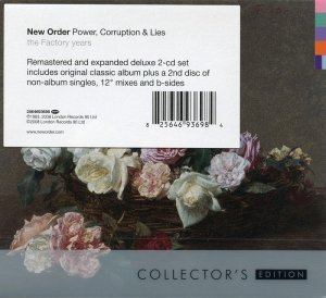 New Order - Power, Corruption & Lies (1983) [2CD Collector's Remastered Edition 2008]