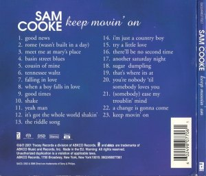 Sam Cooke - Keep Movin' On [SACD] (2001) PS3 ISO + HDTracks