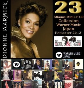 Dionne Warwick - Collection 1963-1977 [23 Albums Mini LP CD Remastered] (2013)