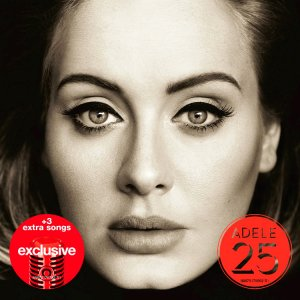 Adele - 25 (Target Exclusive Deluxe Edition) (2015)
