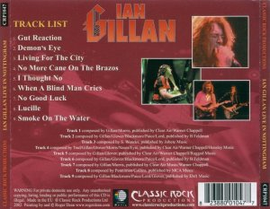 Ian Gillan - Live in Nottingham (2002)