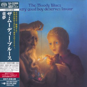 The Moody Blues - Every Good Boy Deserves Favour (1971) [Japanese Limited SHM-SACD 2010] PS3 ISO + HDTracks