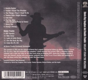 Stevie Ray Vaughan And Double Trouble - Couldn't Stand The Weather (1984) [Japan SACD 2000] PS3 ISO