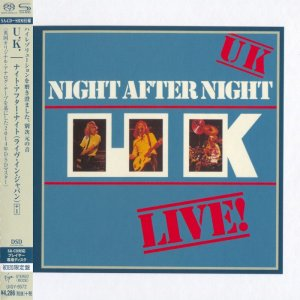 U.K. - Night After Night (1979) [Japanese Limited SHM-SACD 2014] PS3 ISO + HDTracks