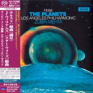 Zubin Mehta, Los Angeles Philharmonic - Holst: The Planets, John Williams: Star Wars Suite [Japanese SHM-SACD 2012] PS3 ISO
