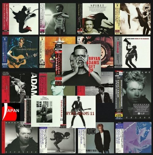 Bryan Adams - Discography [Japanese Edition] (1980-2015