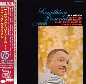 Jack Wilson - Something Personal (1966) [2015 Japan SHM-CD 24-192 Remaster]