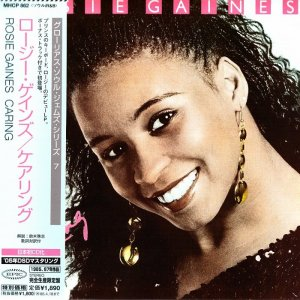 Rosie Gaines - Caring (1985) [2005 Japan MiniLP-CD]