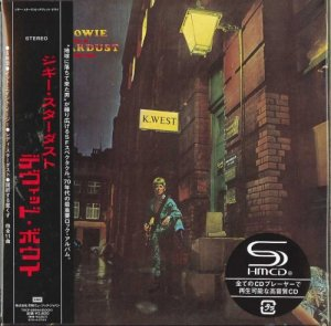 David Bowie - The Rise and Fall of Ziggy Stardust & The Spiders From Mars (Japan SHM-CD) (2009)