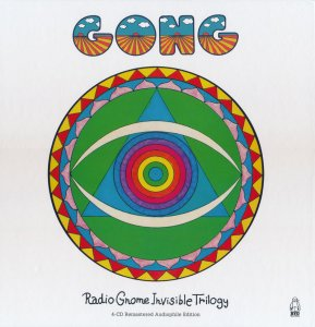 Gong - The Radio Gnome Invisible Trilogy [4CD Remastered Audiophile Edition Box Set] (2015)
