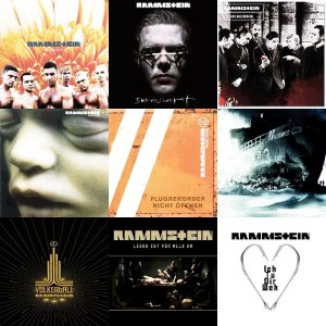 Rammstein – Discography [1995 – 2011] [ALAC]