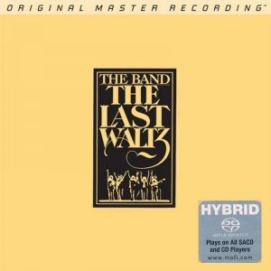 The Band - The Last Waltz (1978) [2 Hybrid SACD MFSL 2014]
