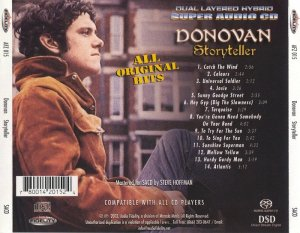 Donovan - Storyteller (2003) [Audio Fidelity] PS3 ISO + HDTracks
