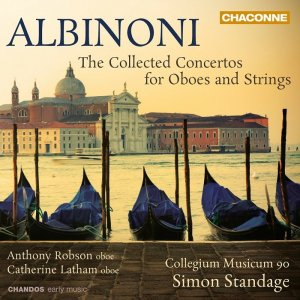 Collegium Musicum 90, Simon Standage - Albinoni: The Collected Concertos for Oboes and Strings (2013)