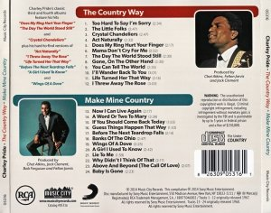 Charley Pride - The Country Way / Make Mine Country (2014)