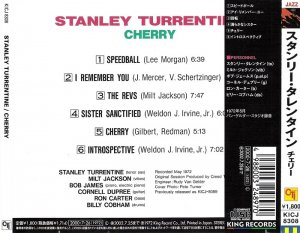 Stanley Turrentine with Milt Jackson - Cherry [Japanese Edition] (2000)