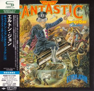 Elton John - Captain Fantastic And The Brown Dirt Cowboy [Deluxe Edition Japan SHM-CD] (2008)