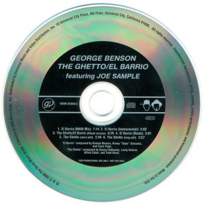 George Benson (Featuring Joe Sample) - The Ghetto & El Barrio (USA Promo) (2000)
