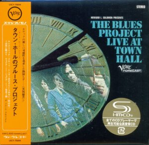 The Blues Project - Live At Town Hall (1967) [Japan remaster] (2013)