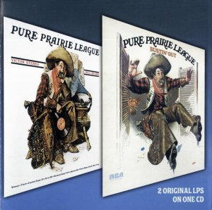 Pure Prairie League - Pure Prairie League/Bustin Out (1972) (2006)