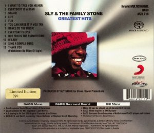Sly & The Family Stone - Greatest Hits (1970) [Audio Fidelity 2015] PS3 ISO + HDTracks