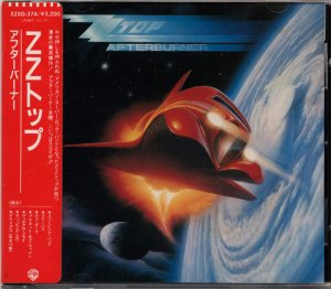 ZZ Top - Afterburner (Japan 1st Press) (1985)