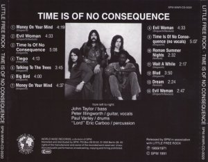Little Free Rock - Time Is of No Consequence (1969-71) (1991)