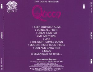 Queen - Queen (1973) [Japanese Limited SHM-SACD 2011] PS3 ISO + HDTracks