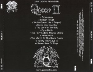 Queen - Queen II (1974) [Japanese Limited SHM-SACD 2011] PS3 ISO + HDTracks