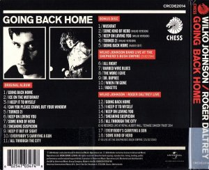 Wilko Johnson & Roger Daltrey - Going Back Home [2CD Deluxe Edition] (2014)