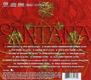 Santana - The Best Of Santana (1998) [SACD 2015] PS3 ISO + HDTracks