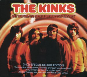The Kinks - The Kinks are the Village Green Preservation Society (3CD Remastered, Special Deluxe Edition) (2004)