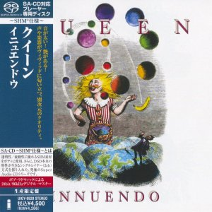 Queen - Innuendo (1991) [Japanese Limited SHM-SACD 2012] PS3 ISO + HDTracks